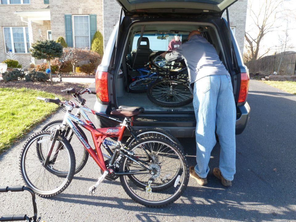 Donated Bikes in NJ