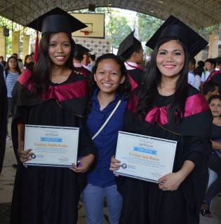 Update from the Philippines: Eunice and Cristy Graduate!
