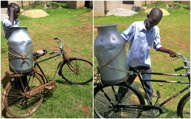 Milkman Delivers By Bike