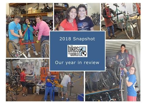 2018 Snapshot: our year in review